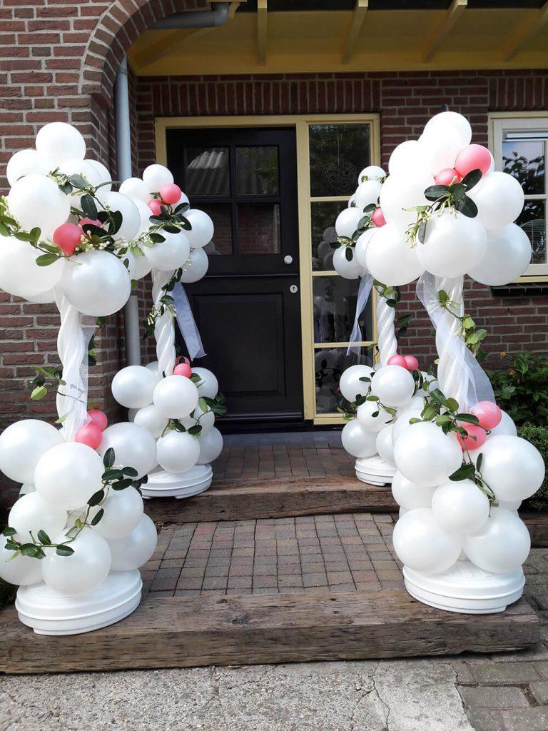 Ballondecoraties voor uw trouwdag