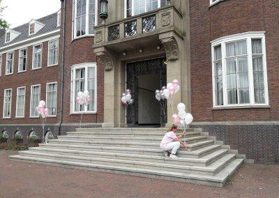 Ballonpilaren gemeentehuis
