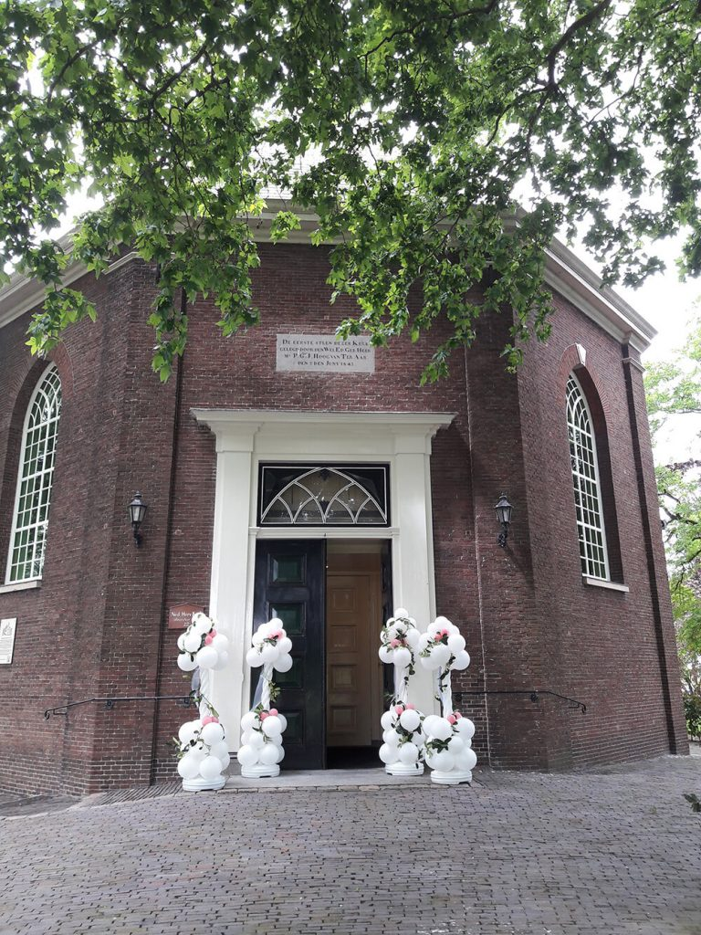 Ballonpilaar kerk