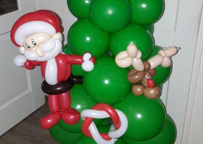 Ballonvouwen kerstboom