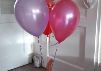Ballonpilaar verjaardag